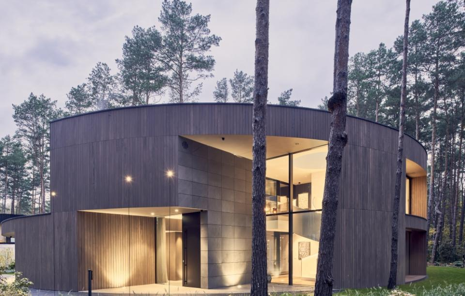 Circle Wood House