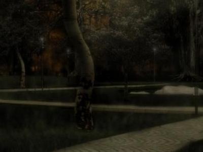 Projekt oświetlenia terenu wokół dworku 04