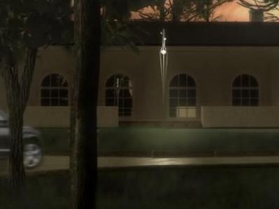 Projekt oświetlenia terenu wokół dworku 05