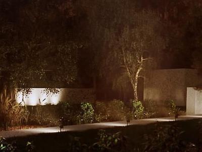Oświetlenie ogrodu 01